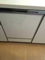 相模原市緑区大山町ミッドオアシスタワーズ パナソニック食器洗浄器 NP-45MD6Sの設置工事