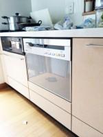 神奈川県伊勢原市 パナソニック食器洗浄機NP-P60V1PSPS新規設置 INAX/キッチン水栓/JF-AB461SYX(JW)取付工事