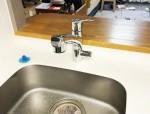 ナショナル浄水器付き水栓PJ-U40MRC01からキッツ浄水器付き水栓【OSS-S7】への交換工事