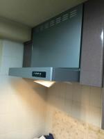 横浜市青葉区 タカラスタンダードレンジフードVL-60から富士工業USRへの交換