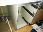 杉並区で永大産業ラフィーナシリーズキャビネット分割+食洗機設置工事を行いました