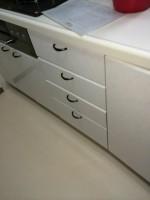 千葉県市川市キャビネット分割+パナソニック食器洗浄器NP-45MD6Sの設置工事