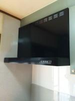 千葉県市川市 富士工業レンジフードFDR-4A-901→USR-3A-901交換工事