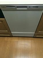 横浜市青葉区イディオスあざみ野 パナソニック食器洗浄器 NP-45MD6S取付工事