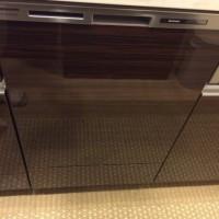 東大島ブライトコート パナソニック食器洗浄機 NP-45MD6S新規取付工事