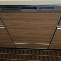 浦安市高洲プラウド新浦安パームコート パナソニック食器洗浄器NP-45MD6Sの新規取付工事