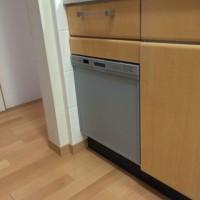 千葉県習志野市 三菱電気食洗機EW-45V1SMの設置工事