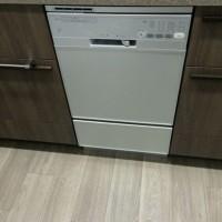 越谷市レイクタウンザ・シーズンズハーマン食洗機FB4504PMSF新規取付工事