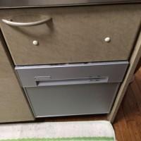 神奈川県横浜市都筑区 サンウエーブ トップオープン食洗機MISA4511の交換工事