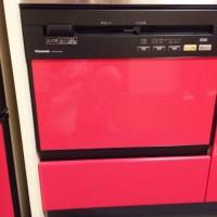 茨城県日立市大みか町で パナソニック製幅600㎜ビルトイン食器洗い洗浄機NP-P60V1PKPKの交換工事を行いました。