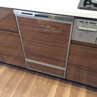 レーベン研究学園NEXIO パナソニックビルトイン食洗機NP-45MD8Sの取り付け工事をおこないました。