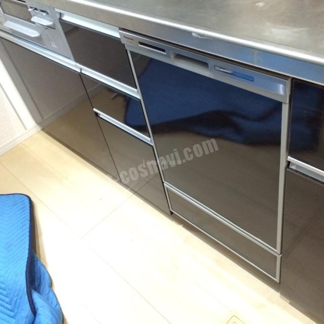 ファーストプラスキッチンにパナソニックビルトイン食洗機 NP-45MD8Sの取り付け-神奈川県厚木市愛甲<!--61023-->