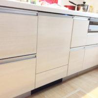 ファーストプラスキッチンにパナソニックビルトイン食洗機 NP-45KD8Wの取り付け-千葉県柏市<!--61102-->