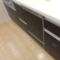 ファーストプラスキッチンにパナソニックビルトイン食洗機 NP-45MD8Sの取り付け-千葉県千葉市若葉区高品町<!--61113-->