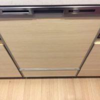 パナソニックビルトイン食洗機 NP-45MD8Wの取り付け-東京都板橋区相生町