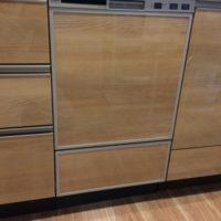 パナソニックビルトイン食洗機 NP-45MD8Sの新規取り付け-茨城県つくば市竹園ウエリスつくば竹園<!--80818-->