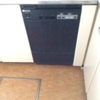 東京ガスビルトイン食洗機MA-D45からリンナイフロントオープン食洗機RSW-F402C-SVへの交換工事-千葉県柏市大津ヶ丘グランシティ<!--80823-->