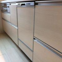 ファーストプラスキッチンにパナソニックビルトイン食洗機 NP-45MD8Sの取り付け-茨城県守谷市大柏<!--80930-->