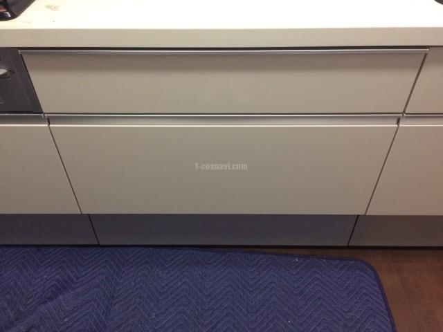 LIXILシステムキッチンにMieleビルトイン食洗機G6620SCiを色を合わせて取り付ける-レガティス横濱山手<!--81014-->