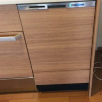 クリナップ S.S にパナソニックビルトイン食洗機 NP-45MD8Wを後付けする工事-茨城県つくば市下広岡<!--71024-->