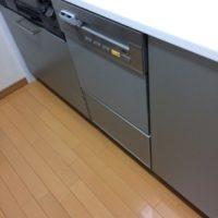 パナソニックビルトイン食洗機 NP-P45V2PSからNP-45MS8Sの交換工事-埼玉県越谷市西方 ガーデン・シンフォニー 新越谷