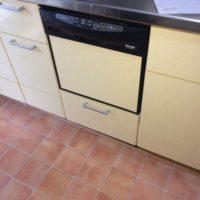 リンナイビルトイン食洗機NP-P45D1P1AAからNP-45MD8Sへの交換工事-茨城県ひたちなか市中根<!--170323-->