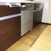 サンヨービルトイン食洗機 DW-SF451B(S) からNP-45MD8Sへの交換工事-深大寺レジデンス<!--170511-->