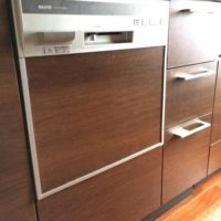 サンヨービルトイン食洗機 DW-SF451B(S) からNP-45MS8Sへの交換工事-深大寺レジデンス<!--170625-->
