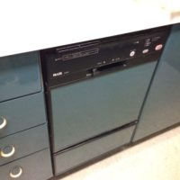 松下電器産業ビルトイン食洗機 SUE24EW1からNP-45MC6Tへの交換工事-東京都江東区千石Gスクエア<!--170624-->