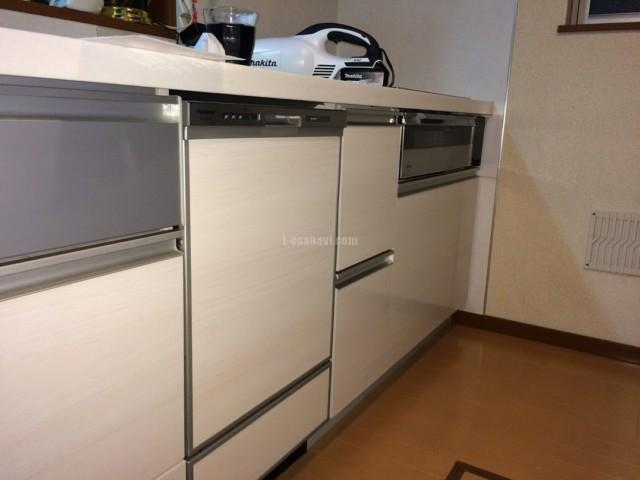 ファーストプラスキッチンにパナソニックビルトイン食洗機 NP-45MD8Sの取り付け-埼玉県さいたま市緑区三室<!--70703-->