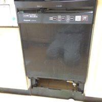 リンナイビルトイン食洗機NP-P45D1P1PKからNP-45MC6Tへの交換工事-群馬県高崎市上豊岡町<!--70716-->