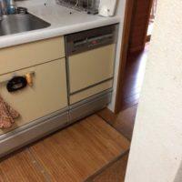 クリナップビルトイン食洗機 CWPM-45DS からNP-45MS8Sへの交換工事-東京都小平市鈴木町<!--170717-->