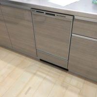 ハウステックのキッチンにパナソニックビルトイン食洗機 NP-45MD8Sの取り付け-茨城県つくばみらい市紫峰ヶ丘<!--70719-->