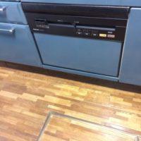 タカラスタンダードビルトイン食洗機TDWP-60からパナソニックビルトイン食洗機NP-P60V1PSPSへの交換工事-東京都練馬区貫井<!--170721-->