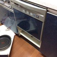 ナショナルビルトイン食洗機 NP-P45X1P1AAからNP-45MS8Sへの交換工事-東京都江東区豊洲4丁目プライヴブルー東京<!--71029-->