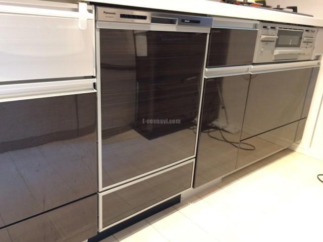 ファーストプラスキッチンにパナソニックビルトイン食洗機 NP-45MD8Sの取り付け-神奈川県横浜市泉区上飯田町