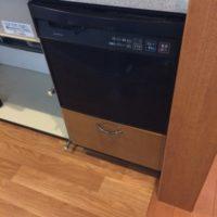 ナショナルビルトイン食洗機 NP-P45X1P1AAからNP-45MS8Sへの交換工事-埼玉県志木市柏町<!--71130-->