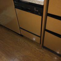 ナショナルビルトイン食洗機 NAIS 13EW1からNP-45MD8Sへの交換工事-東京都練馬区高松<!--701201-->