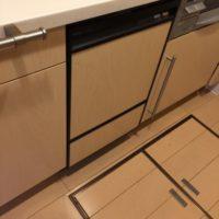 旧ナショナルビルトイン食洗機 NP-U45B1P1からパナソニックNP-45MD8Sへの交換工事-東京都練馬区高松<!--701202-->