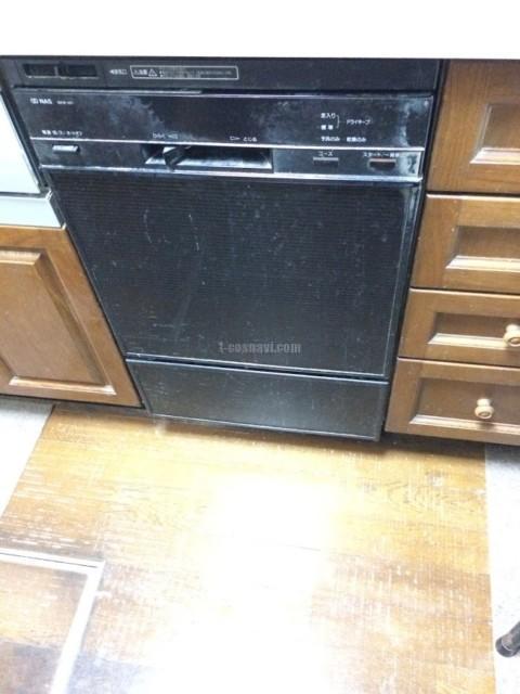 ナショナルビルトイン食洗機 EKW-451からNP-45MD8Sへの交換工事-大田区大森西<!--80119-->