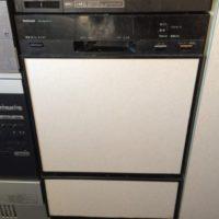 旧ナショナルビルトイン食洗機NP-45A1P1-Kからリンナイフロントオープン食洗機RSW-F402C-への交換工事-東京都中野区沼袋<!--71223-->