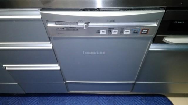 旧ナショナルビルトイン食洗機NP-P45FD1SAAからリンナイフロントオープン食洗機RSW-F402C-への交換工事-千葉県佐倉市南ユーカリが丘プレシオ南ユーカリが丘<!--80407-->