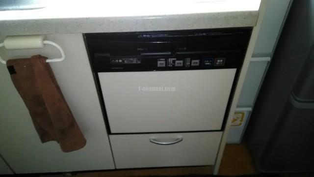 ナショナルビルトイン食洗機 NP-P45F1P1AAからNP-45MS8Sへの交換工事-神奈川県横浜市泉区上飯田町