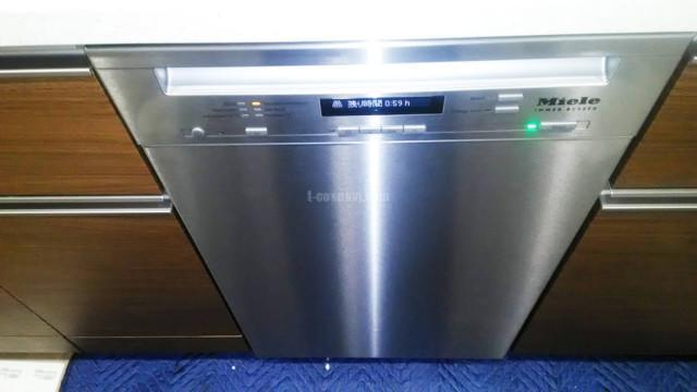 Miele ビルトイン食洗機G4820SCiの新規取り付け-プラウド南砂町<!--80711-->