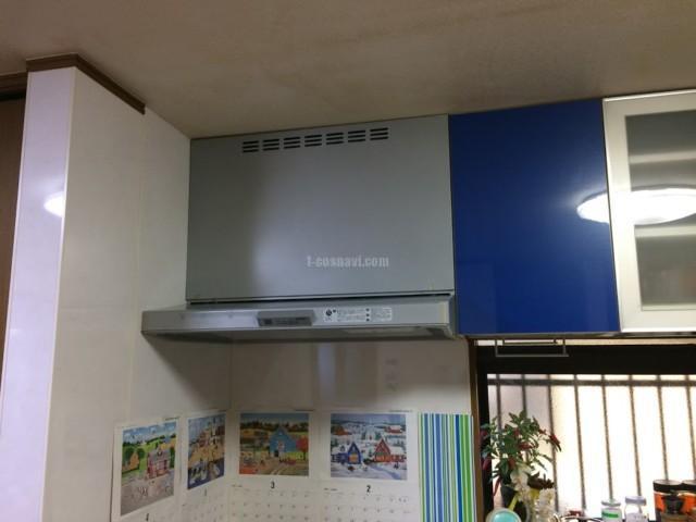 ナショナルビルトイン食洗機 NP-60V1PSPSからNP-45MD8Sへの交換・レンジフード・ビルトインコンロ他工事-埼玉県行田市