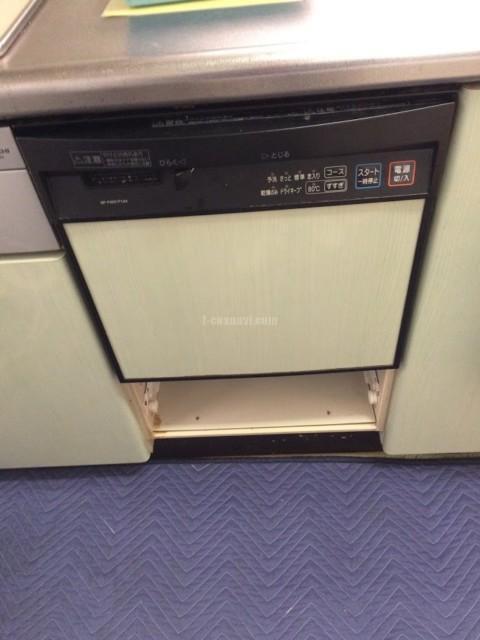 ナショナルビルトイン食洗機 NP-P45X1P1AAからNP-45MS8Sへの交換工事-千葉県佐倉市染井野