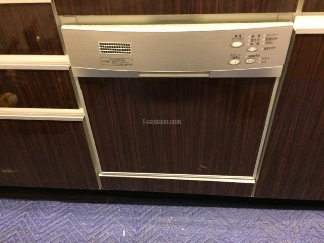 ハーマンビルトイン食洗機FB4511PからパナソニックNP-45MS8Sへの交換工事-クレストプライムタワー芝