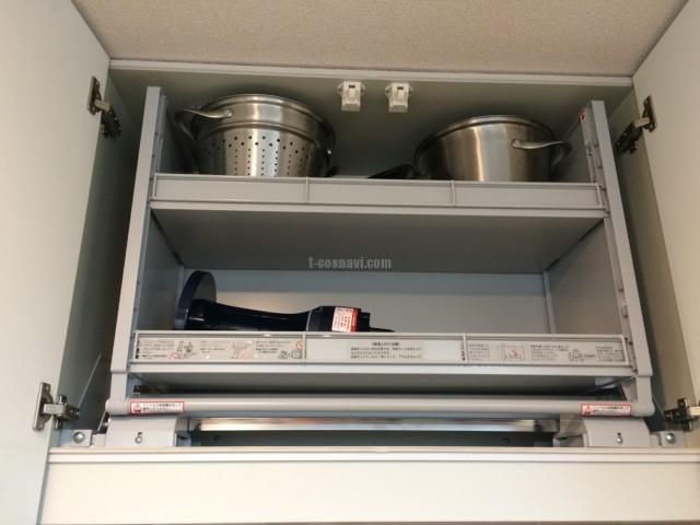 ファーストプラスキッチンにリンナイビルトインリンナイRSW-F402C-SVとダウンウォール取付-茨城県つくば市天久保