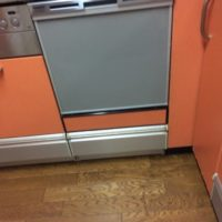 クリナップビルトイン食洗機 CWPM-45DS からNP-45MS8Sへの交換工事-埼玉県川口市西青木