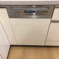 Miele ビルトイン食洗機G4820SCiの新規取り付け-シティテラス横濱和田町ブリーズコート